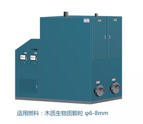 金轩模板化生物质热水锅炉